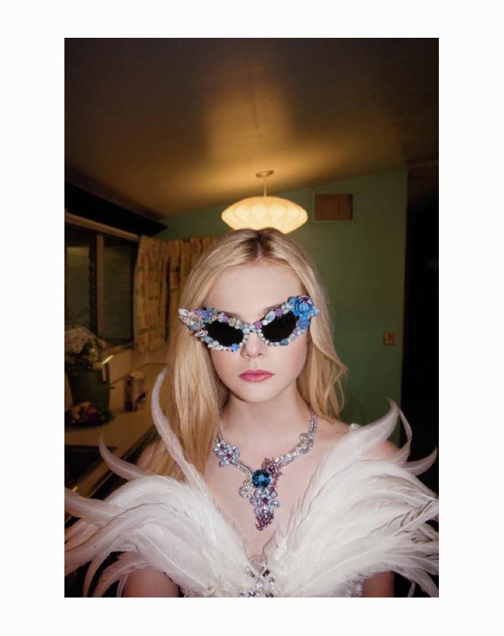 Elle Fanning in Rodarte by Bill Owens for A Magazine