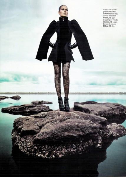 Emanuela de Paula by Jacques Dequeker in Guerreira Futurista | <em>Marie Claire Brazil</em> April 2010