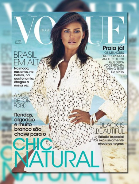 Emanuela de Paula for <em>Vogue Brazil</em> January 2011