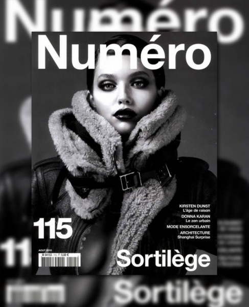 <em>Numéro</em> August 2010 Cover | Emily DiDonato by Anthony Maule