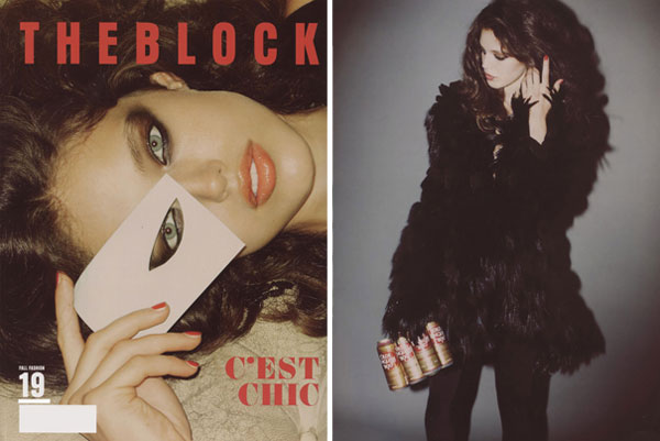 The Block F/W 2009 | Emily Didonato by Guy Aroch