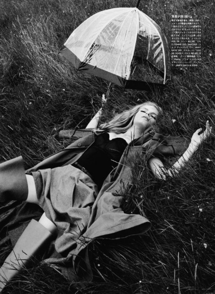 Vogue Nippon January | Mélodie & Janete by Emma Summerton