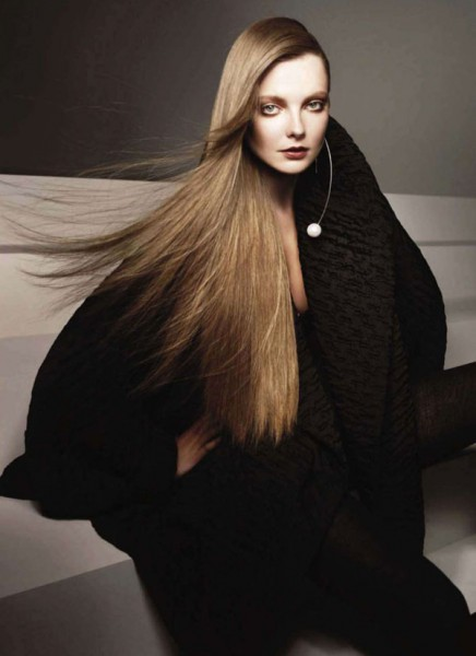 Eniko Mihalik by Glen Luchford for <em>Harper's Bazaar US</em> September 2010