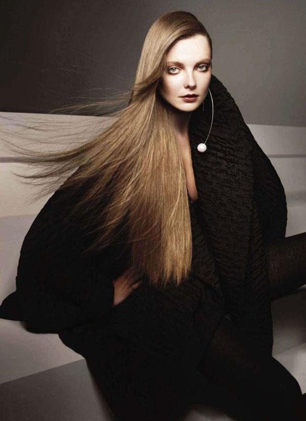Eniko Mihalik by Glen Luchford for Harper's Bazaar US September 2010