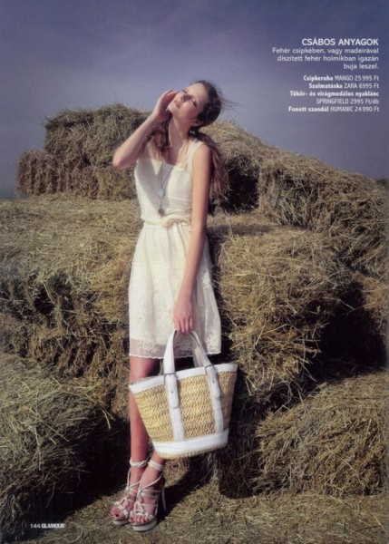 Eniko Mihalik by Mark Viszlay | <em>Glamour Hungary</em> May 2010