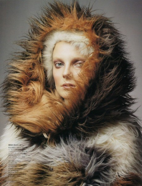 Eniko Mihalik by Raymond Meier for <em>Vogue Nippon</em> November 2010