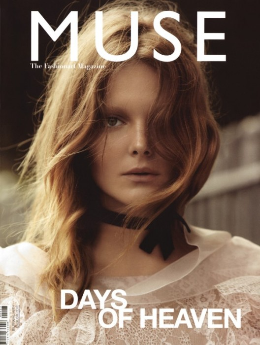 Muse Fall 2010 Cover   Eniko Mihalik by Will Davidson