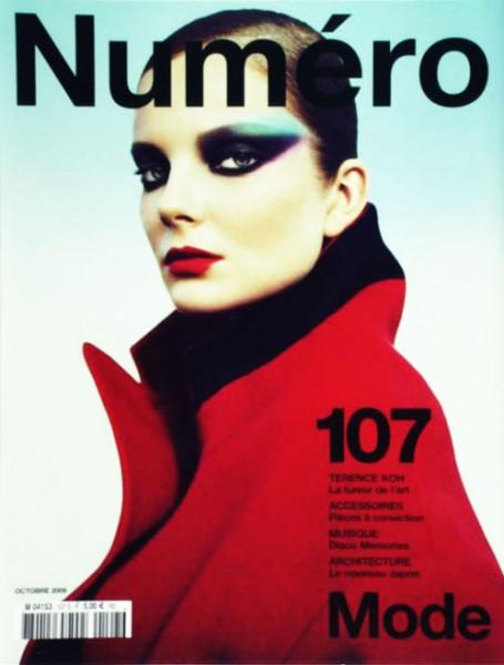 Numéro #107 October 2009 – Eniko Mihalik by Greg Kadel