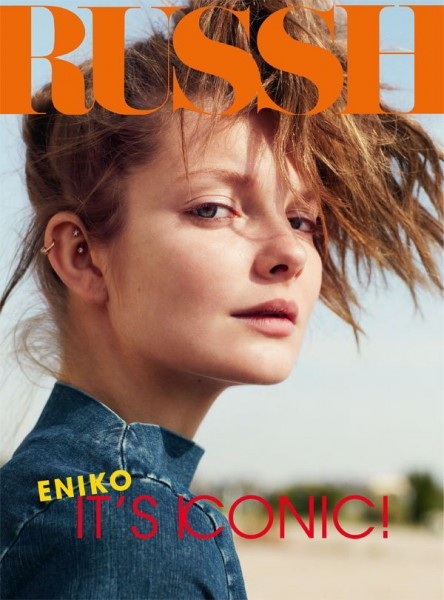Russh #37 Cover | Eniko Mihalik by Benny Horne