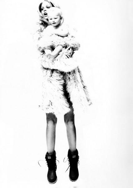 Erin Heatherton by Ben Watts for Flaunt