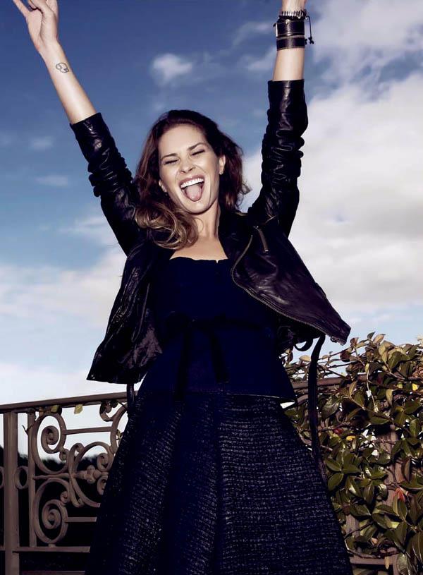 Erin Wasson by Santiago Esteban for Elle Spain January 2011