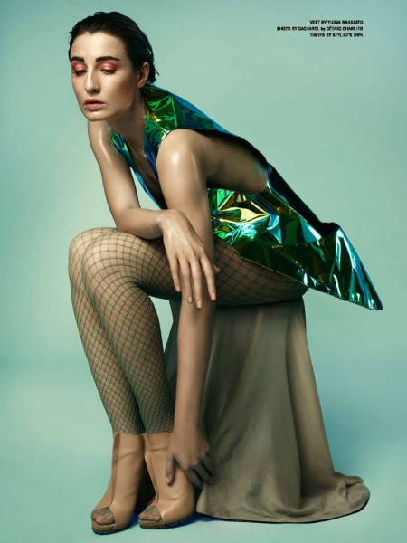 Erin O'Connor by Yasunari Kikuma for <em>Libertin Dune</em>