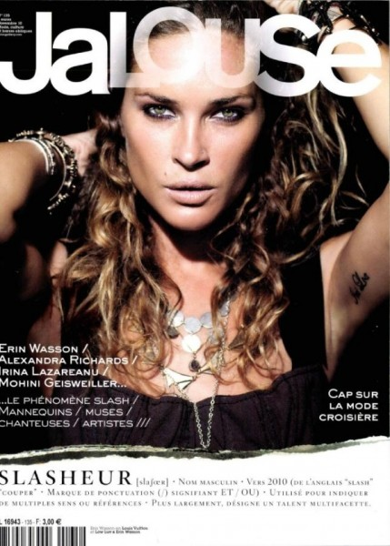 <em>Jalouse</em> November 2010 Cover | Erin Wasson