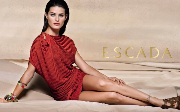 Escada Spring 2011 Campaign Preview | Isabeli Fontana by Peter Lindbergh