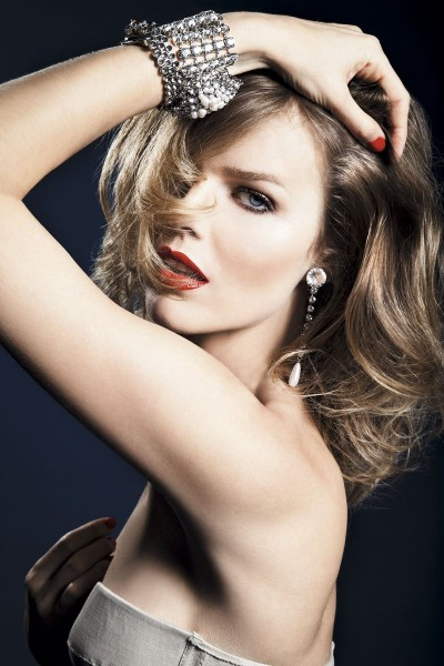Eva Herzigova by Alan Gelati for <em>S Moda</em>