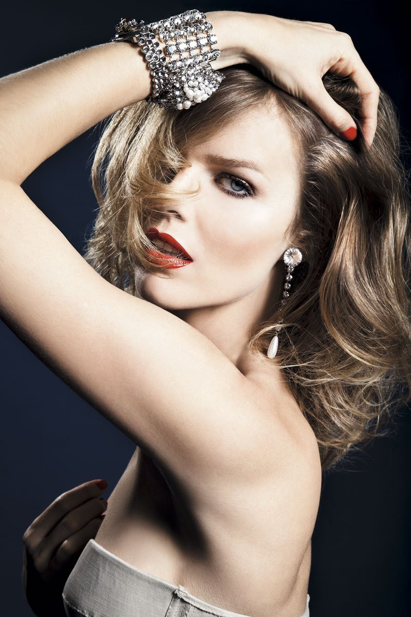 Eva Herzigova by Alan Gelati for S Moda