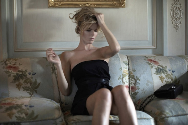Morning Beauty | Eva Herzigova by Jannis Tsipoulanis