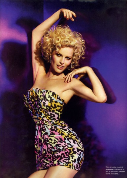 Eva Herzigova Goes 'Nightclubbing' for Numéro #106