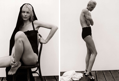 Eva Strips Down for M by Le Monde