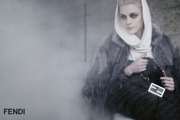 Fendi Fall 2009 Campaign by Karl Lagerfeld