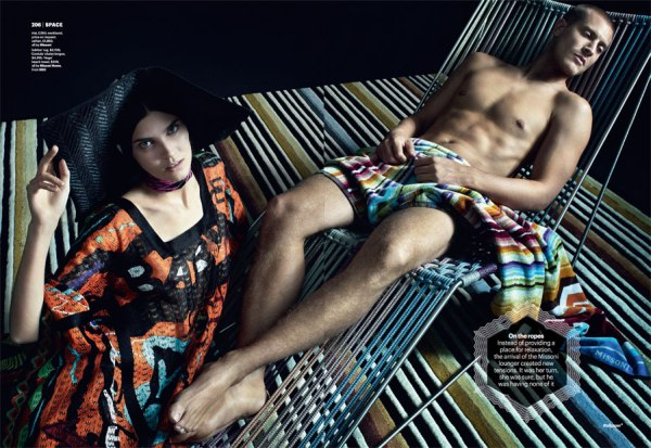 Fashion Victims by Matthias Vriens-McGrath for Wallpaper March 2011