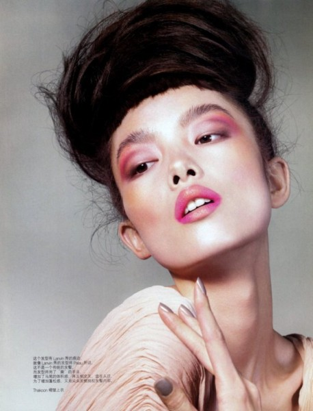 Fei Fei Sun by Jem Mitchell for <em>Vogue China</em> June 2010