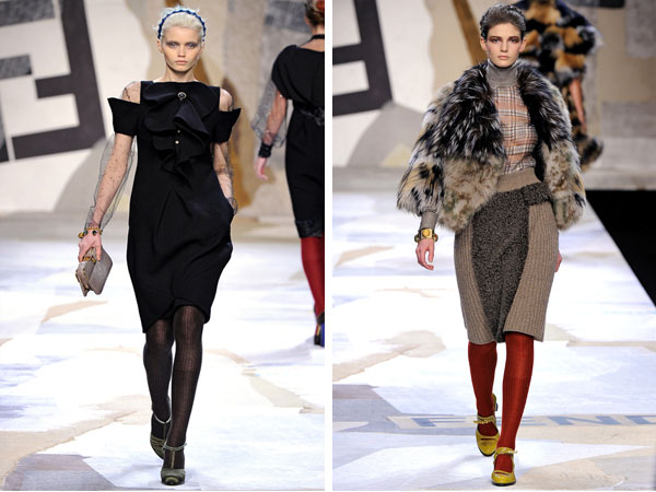 Fendi Fall 2011 | Milan Fashion Week