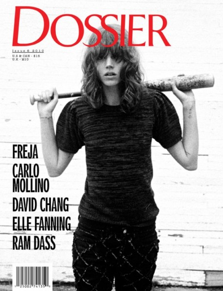 <em>Dossier Journal</em> Fall/Winter 2010 Cover | Freja Beha Erichsen by Cass Bird
