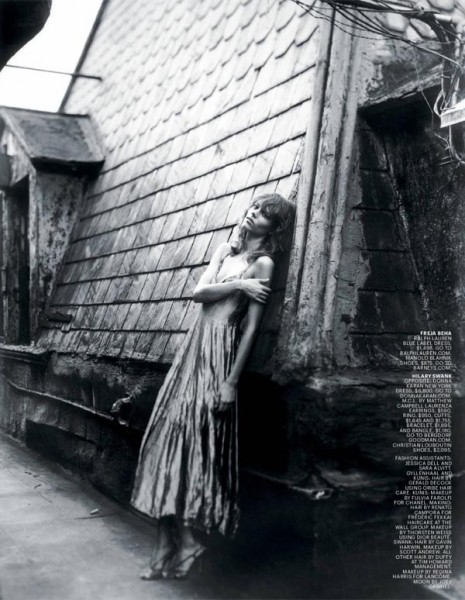 Snap! | Freja Beha Erichsen by Alice O'Malley for T Magazine