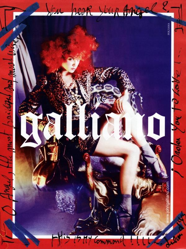 Galliano by John Galliano Spring 2010 Preview | Viktoriya Sasonkina by Julien d'Ys
