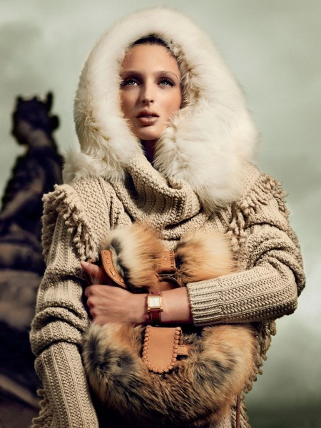 Georgina Stojiljkovic by Hunter & Gatti for <em>Vogue Spain</em>