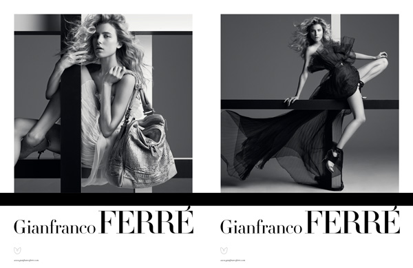 Gianfranco Ferré Spring/Summer 2010 Campaign Preview | Dree Hemingway by Inez & Vinoodh