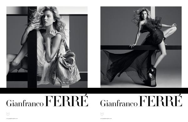 Gianfranco Ferré Spring/Summer 2010 Campaign Preview | Dree Hemingway by Inez & Vinoodh
