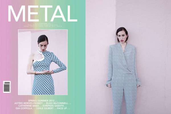 Gia Coppola by Eric Guillemain in Stella McCartney for Metal #27