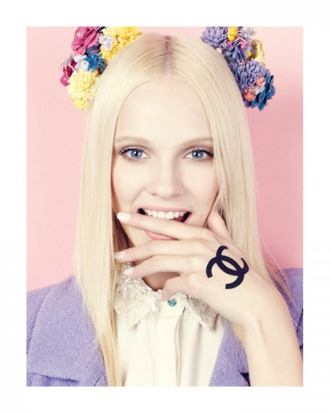 Ginta Lapina by Nagi Sakai in Chanel for Vogue Mexico April 2012