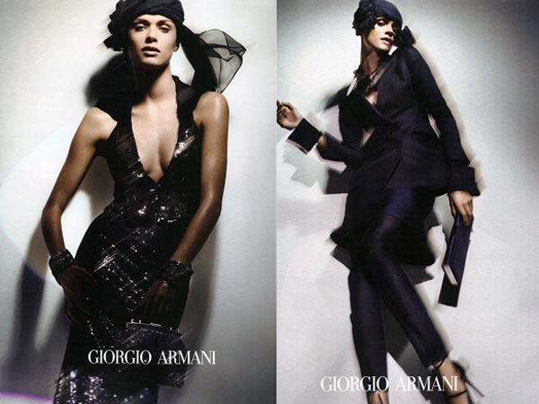 Giorgio Armani Spring 2011 Campaign Preview | Elisa Sednaoui by Nick Knight