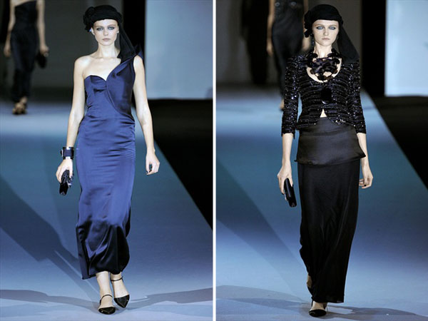 Giorgio Armani Spring 2011 | Milan Fashion Week
