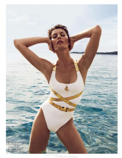 Gisele Bundchen Wows in Vogue Paris' June-July Issue by Inez & Vinoodh