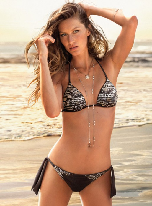 Gisele Bundchen for Calzedonia Summer 2010 Campaign by Matt Jones