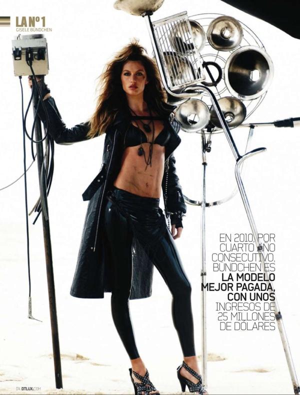 Gisele Bundchen for DT Magazine October 2010 by Mario Testino