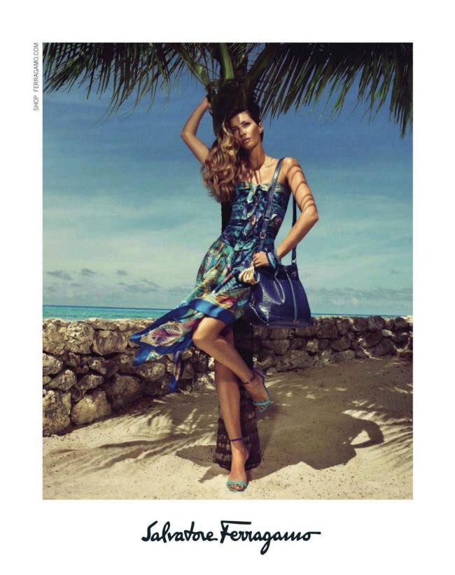 Gisele Bundchen for Salvatore Ferragamo Spring 2012 Campaign