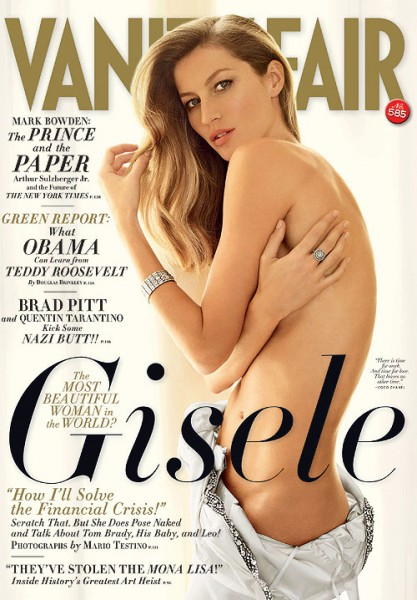 Gisele in Vanity Fair