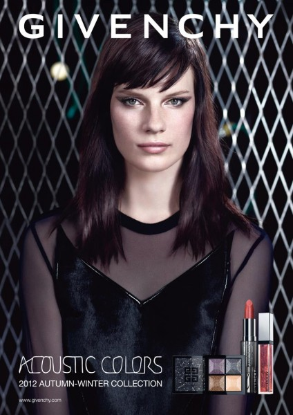 "Querelle Jansen for Givenchy ""Acoustic Colors"" Campaign by Willy Vanderperre"