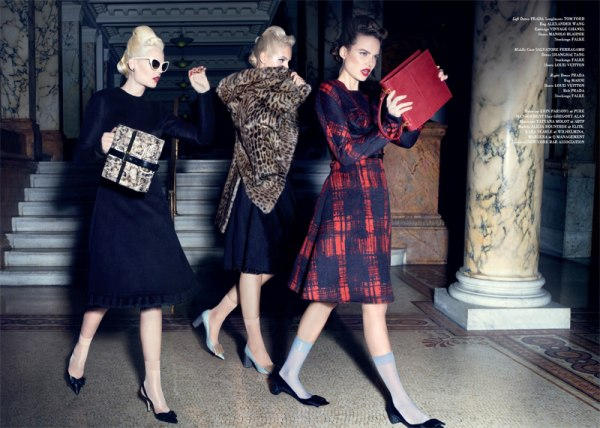 Alicia, Kara &#038; Marlena by Micaela Rossato for <em>Glass</em> #4