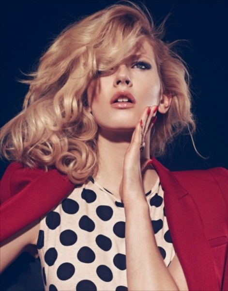 Alexandra Vanenkovova by Koray Birand for <em>Marie Claire Turkey</em> January 2011