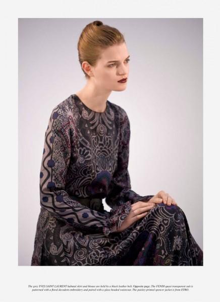 Magdalena Langrova by Jacques Habbah for Grey #6