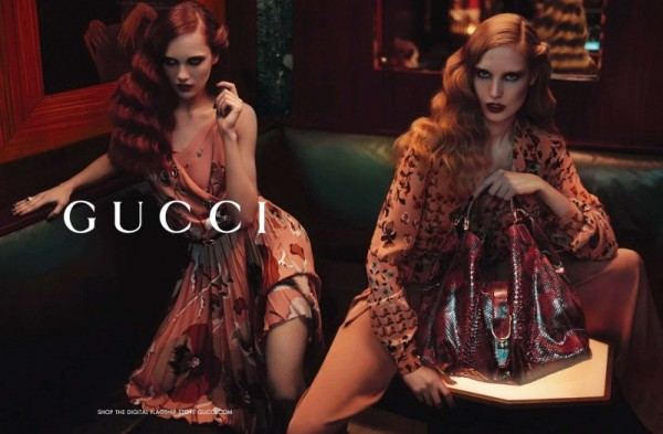 Karmen Pedaru & Nadja Bender Star in Gucci's Pre-Fall 2012 Campaign by Mert & Marcus