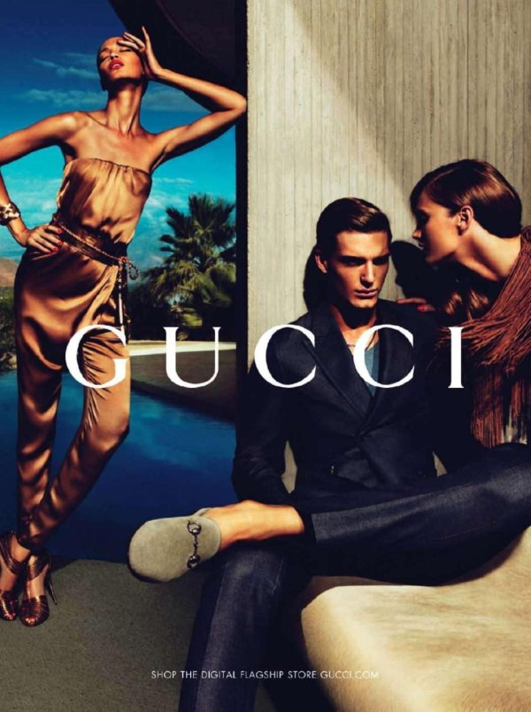 Gucci Spring 2011 Campaign Preview | Karmen Pedaru & Joan Smalls by Mert & Marcus