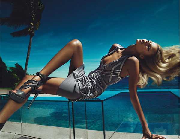 Gucci Spring 2010 Campaign Preview | Natasha Poly by Mert & Marcus