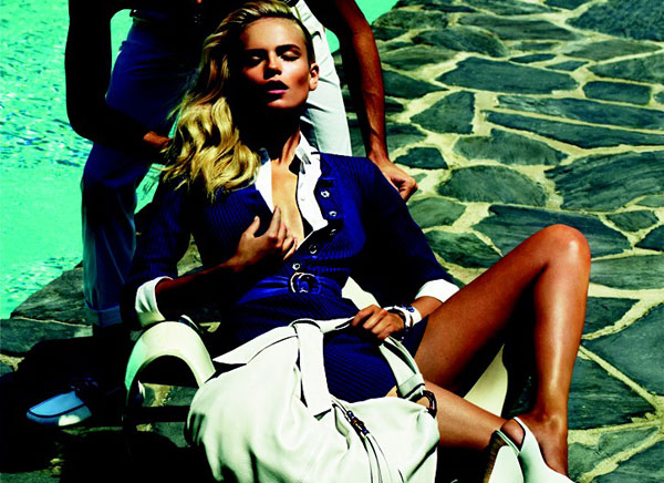 Preview | Natasha Poly for Gucci Cruise 2010 by Mert & Marcus